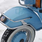 Vespa Stoßstange alle Modelle chrom PK PX Sprint Special 50 S