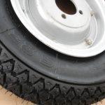 Vespa MICHELIN S83 Reifen-Felge-Schlauch komplett 3,50 - 8 Zoll