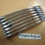 Vespa Beinschildkaskade Grill verchromt für PX Kaskade