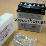 Vespa Batterie PX PE 125 200 YB9-B alle Modelle