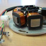Vespa Zündgrundplatte PX PE - 5 Kabeln (3+2)