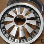 Vespa Felge mit Speichen Aluminium 10 Zoll Modelle