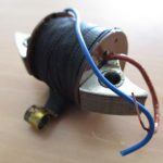 Vespa Zündspule VNB 1 2 3 4 5 mit 2 Kabeln innenliegend