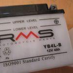 Vespa LX 50 Batterie YB4L-B