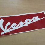 Vespa Schablone Lackierschablone 220mm lang