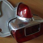 Vespa Rücklicht verchromt aus METALL wie SIEM