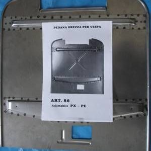 Vespa Einschweißblech Bodenblech alle Vespa PX 125 200 PE Modell