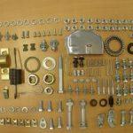 284 Teile Riesenschrauben und Kleinteilekit Vespa large frame