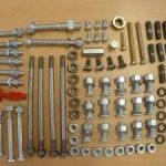 157 TEILE Riesenschrauben-und Kleinteilekit Vespa small frame