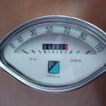 Vespa Tachometer 110 km/h Speedo
