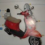Vespa LX 50 125 150 Windschild