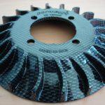 Vespa Lüfterrad Carbon Parmakit small frame
