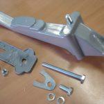 Vespa Reserveradhalter Ersatzradhalter alle 10 Zoll Modelle