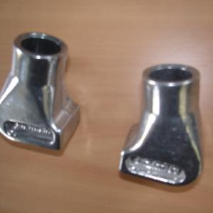Vespa Ständerfüsse Aluminium PX PK Cosa Durchmesser 22 mm